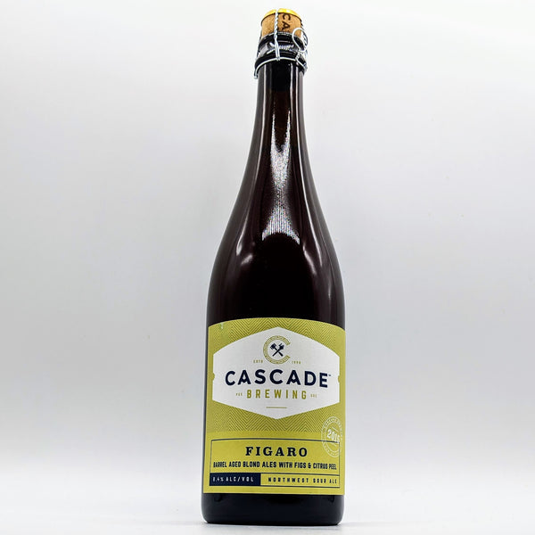 Cascade Brewing - Figaro - 8.4% Barrel Aged Blond Ales with Figs & Citrus Peel - 750ml Bottle