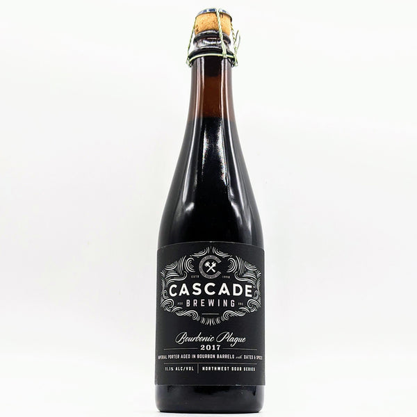 Cascade Brewing - Bourbonic Plague - 11.1% Bourbon Barrel Aged Imperial Porter with Dates & Spices - 500ml Bottle