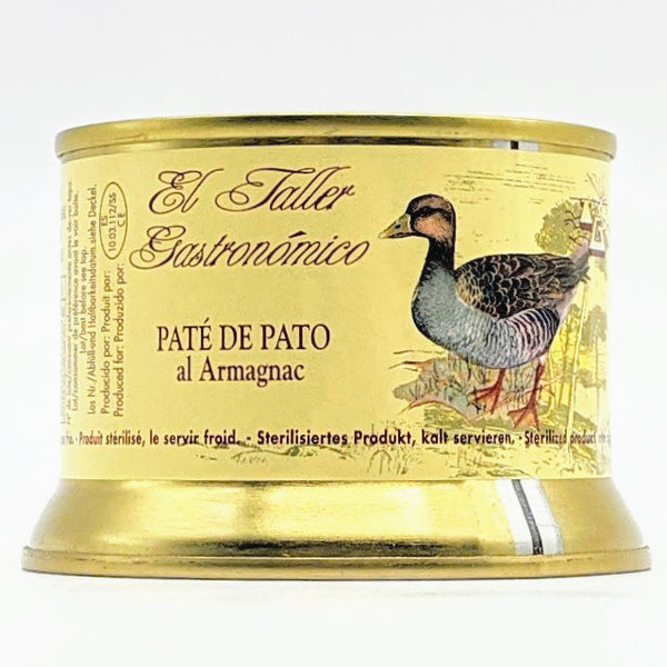 Copy of El Taller Gastronomico - Duck Pate With armagnac - 135g Tin