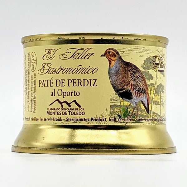 El Taller Gastronomico - Partridge Pate with Armagnac - 135g Tin