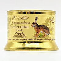 El Taller Gastronomico - Hare Pate with Truffle - 135g Tin