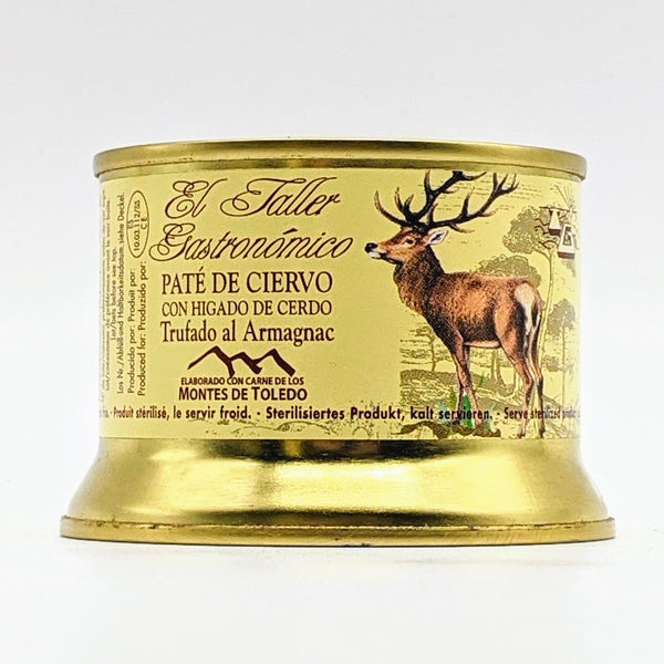 El Taller Gastronomico - Venison pate with Truffle and Armagnac - 135g Tin