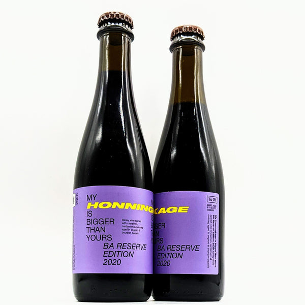 To Ol - My Honningkage Is Bigger Than Yours BA Reserve Edition 2020 - 16.7% ABV - 375ml Bottle Tool