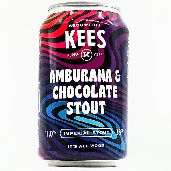 Kees - Amburana & Chocolate Stout - 11% ABV - 330ml Can