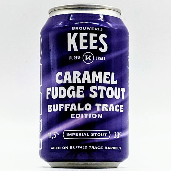 Kees - Caramel Fudge Stout Buffalo Trace Edition - 11.5% ABV - 330ml Can