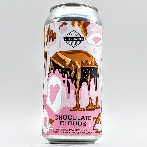 Basqueland - Chocolate Clouds - 12.5% Pastry Stout with Cacao & Toasted Marshmallows - 440ml Can