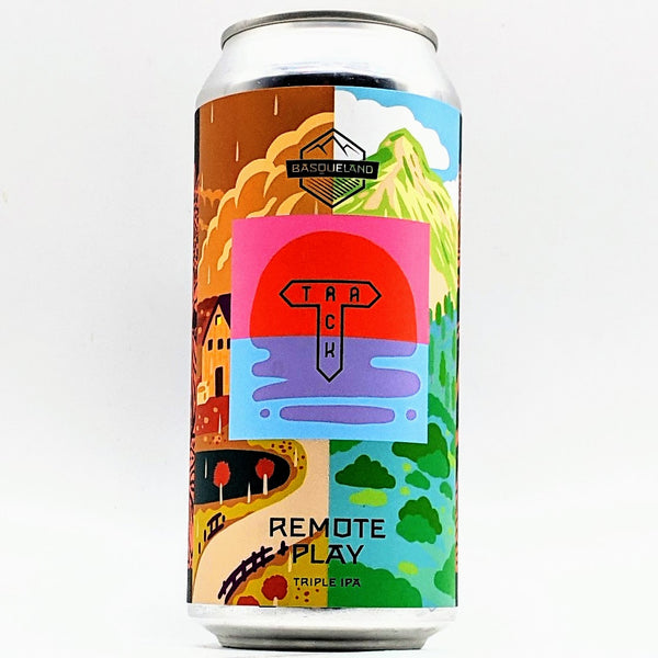 Basqueland / Track - Remote Play - 9.8% TIPA - 440ml Can