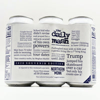 Northern Monk / The Daily Mash - The Daily Mash 2020 Souvenir Edition - 5% ABV - 440ml Can