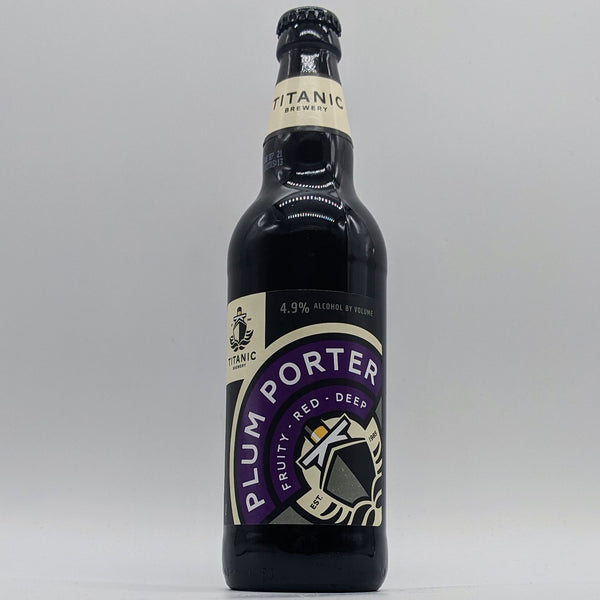 Titanic - Plum Porter - 4.9% ABV - 500ml Bottle
