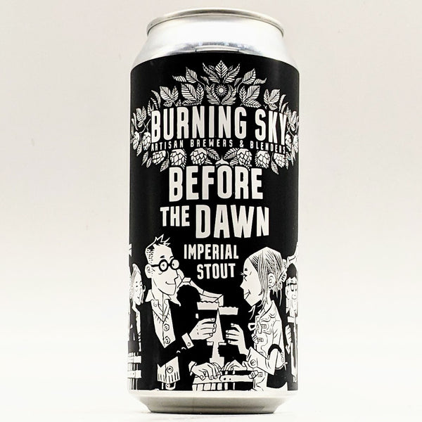 Burning Sky - Before The Dawn - 10.5% Imperial Stout - 440ml Can