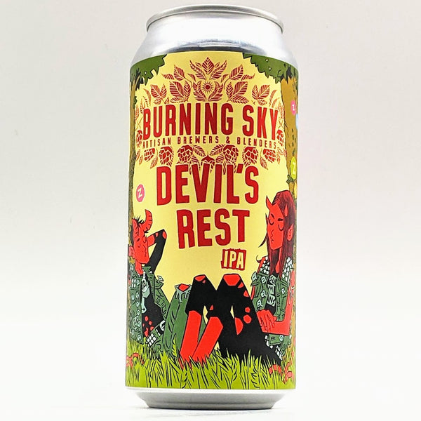 Burning Sky - Devils Rest - 7.0% IPA - 440ml Can
