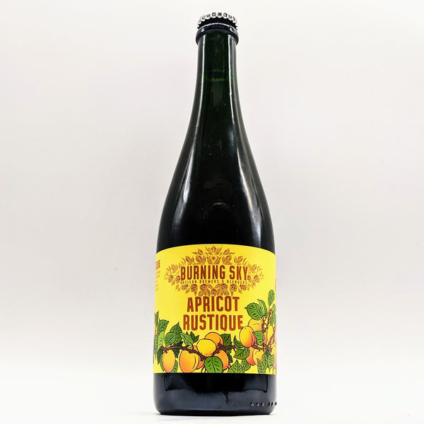 Burning Sky - Apricot Rustique - 8.5% Belgian Pale w/ Apricots - 750ml Bottle