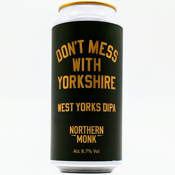 Northern Monk - Don't Mess with Yorkshire DIPA - 8.7% DIPA - 440ml Can