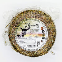 Cabra al Romero - Goats Cheese covered in Rosemary - 600g Round