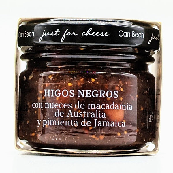 Black Fig with Australian Macadamia Nuts & Jamaican Allspice Jam for Cheese - 70g