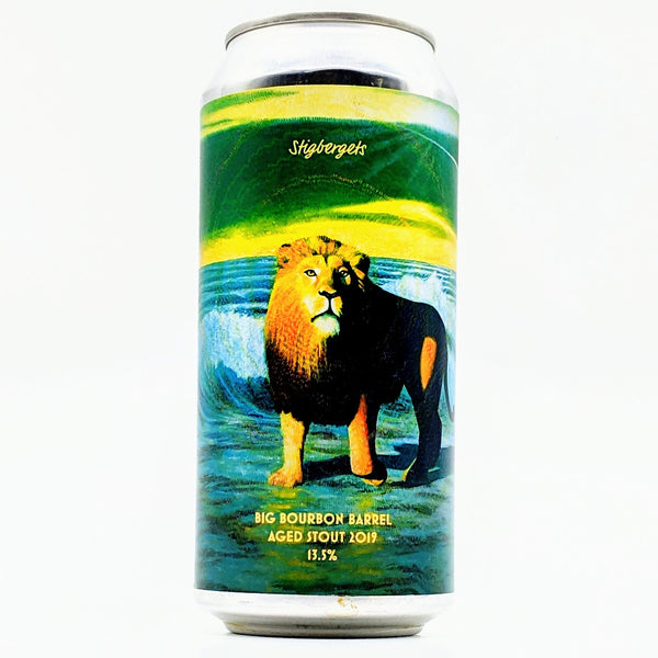 Stigbergets - Big Bourbon - 13.5% Barrel Aged Stout - 440ml Can