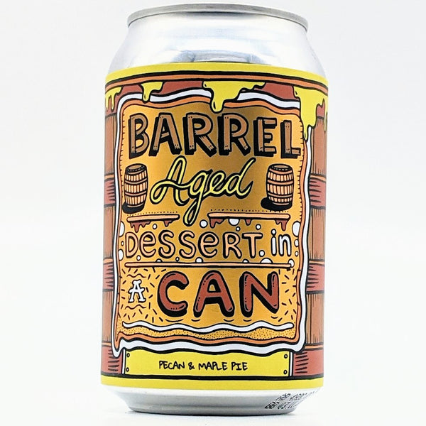 Amundsen - Barrel Aged Pecan Maple Pie Dessert in a Can - 11.5% Abv - 330ml Can