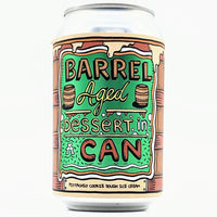 Amundsen -  Barrel Aged Pistachio Cookie Dough Ice Cream Dessert in a Can - 11.5% Abv - 330ml Can