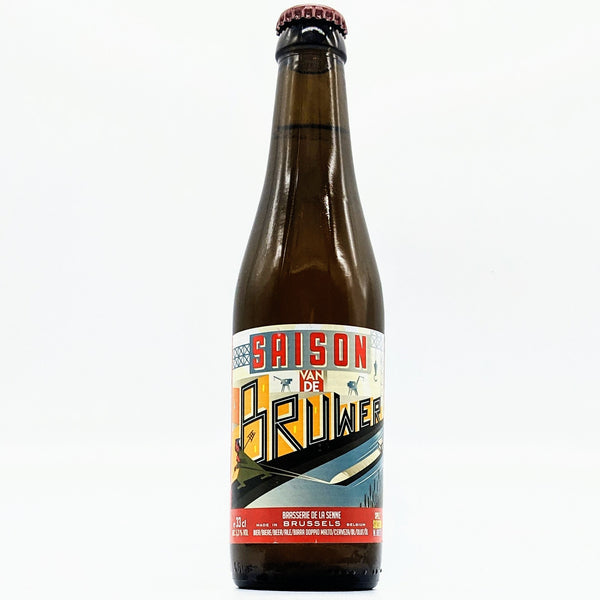 Brasserie de la Senne - Saison van de Bruwer - 5.3% ABV - 330ml Bottle