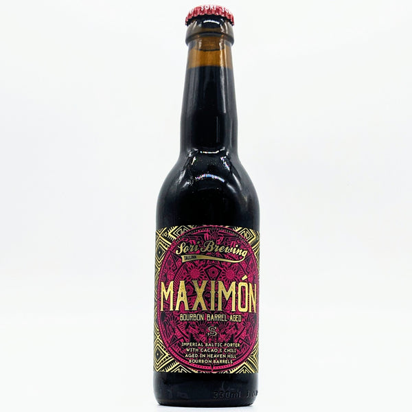 Sori Brewing - Maximón (Bourbon BA Special) - 12% ABV - 330ml Bottle
