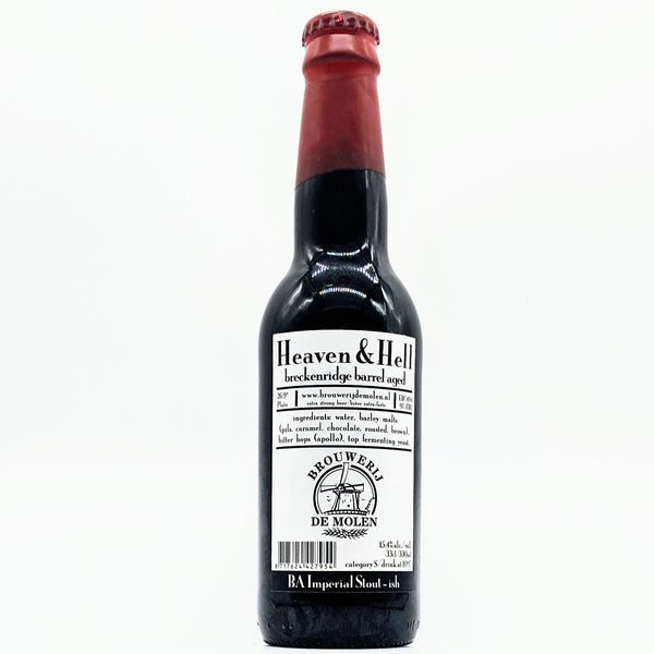 De Molen - Heaven & Hell Breckenridge BA - 15.4% ABV - 330ml Bottle