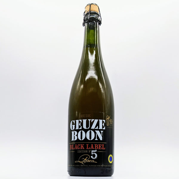 Boon - Oude Geuze Boon Black Label Edition N°5 - 7% ABV - 750ml Bottle