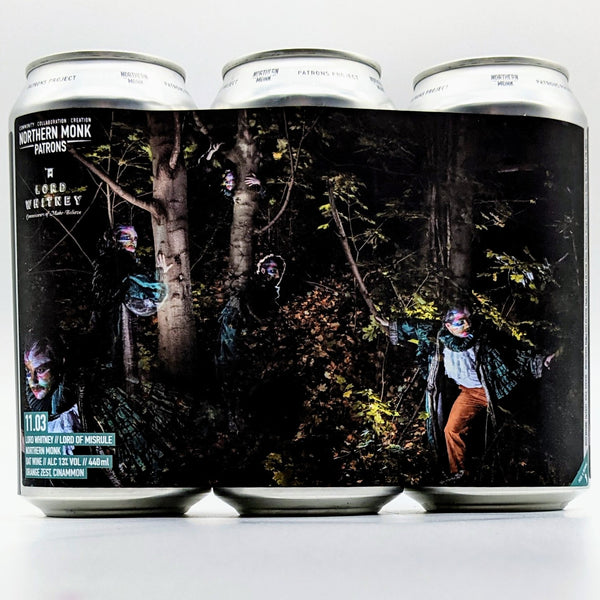 Northern Monk / Lord Whitney - Lord of Misrule - 13% Oat Wine with Orange Zest & Cinnamon - 440ml Can