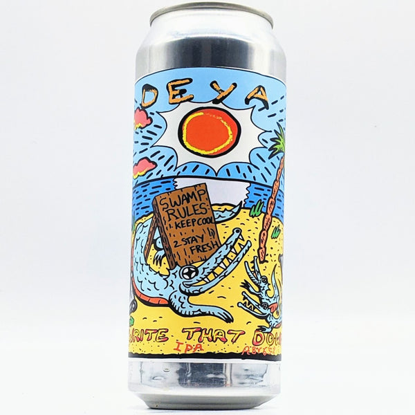 Deya - Write That Down - 6.5% Spelt IPA - 500ml Can