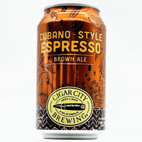 Cigar City - Cubano Style Espresso - 5.5% Brown Ale - 330ml Can