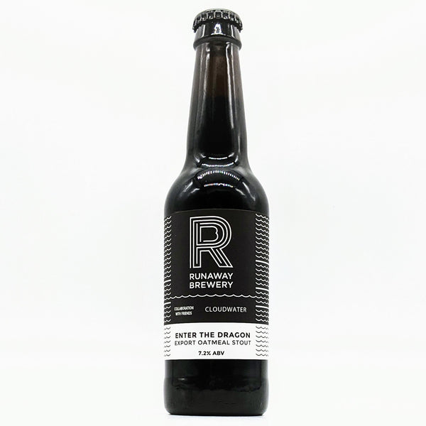 Runaway / Cloudwater - Enter the Dragon - 7.2% Oatmeal Export Porter - 330ml Bottle