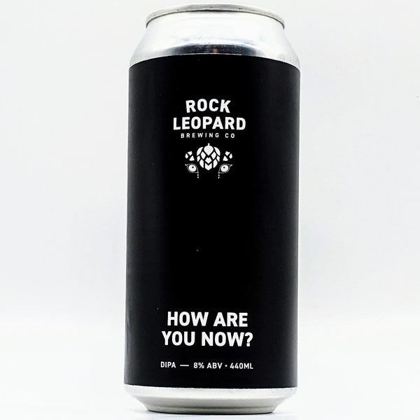 Rock Leopard - How Are You Now? - 8% NE DIPA - 440ml Can