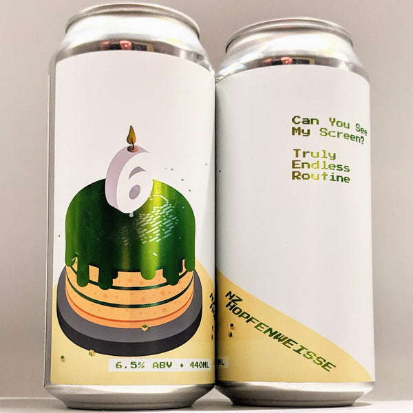 Cloudwater - Can You See My Screen? (6th Birthday NZ Hopfenweisse) - 6.5% Weizendoppelbock - 440ml Can