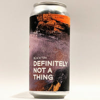 Cloudwater / Boundary - Definitely Not a Thing - 10% Black TIPA - 440ml Can