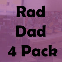 Rad Dad Beer Selection (4 Pack of Easy Drinking Pales)