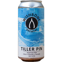 Wishbone - Tiller Pin - 4.2% Pale Ale - 440ml Can