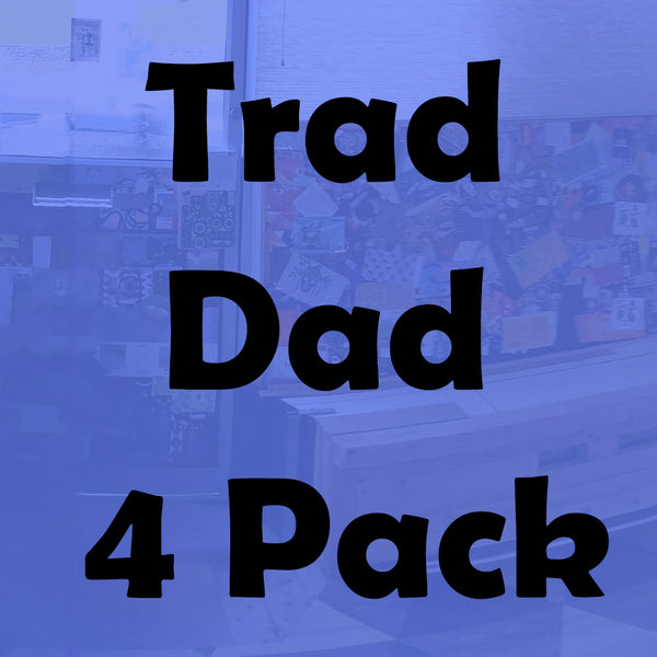 Trad Dad Beer Selection (4 Pack of Traditional-ish Beer)