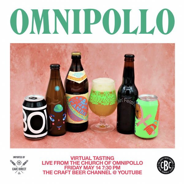 Omnipollo - Live from the Church Tasting Pack Vol.2 - 5 x Beers + 1 x Omnipollo Glass = Good Times
