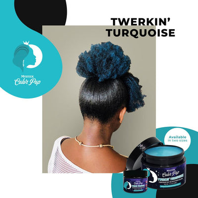 Twerkin Turquoise - Mysteek Color Pop