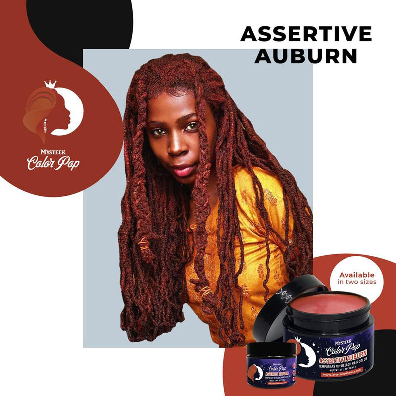 Assertive Auburn - Mysteek Color Pop