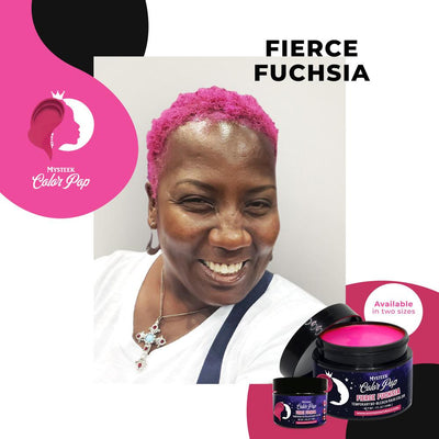 Fierce Fuchsia - Mysteek Color Pop