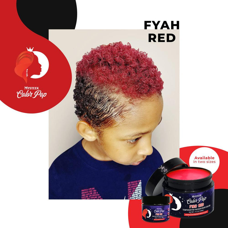 Fyah Red - Mysteek Color Pop