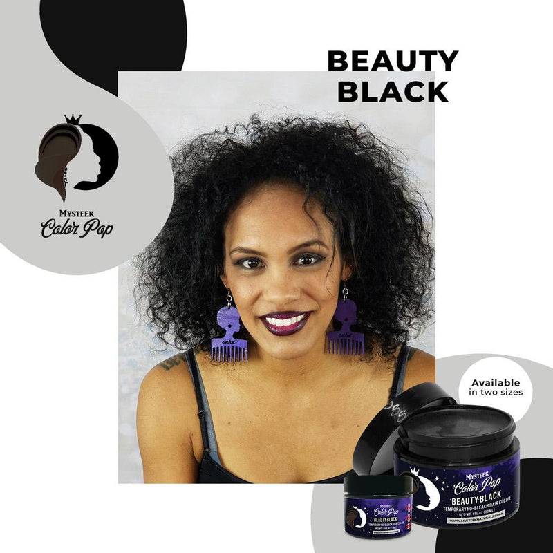 Beauty Black - Mysteek Color Pop