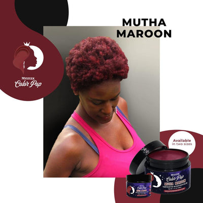 Mutha Maroon - Mysteek Color Pop