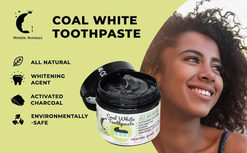 Coal White Toothpaste(2oz)