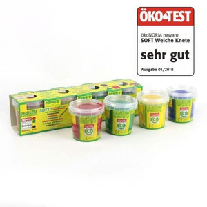 Soft-Knete 4er Set