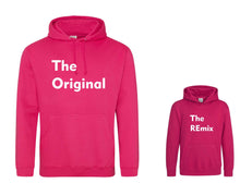 Load image into Gallery viewer, Original and REmix Matching adult and child Hoodie