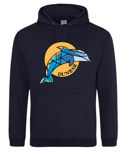 Dunbar Dolphin Hoodie adults or kids