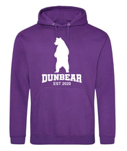 Load image into Gallery viewer, Dunbear Hoodie adults or kids