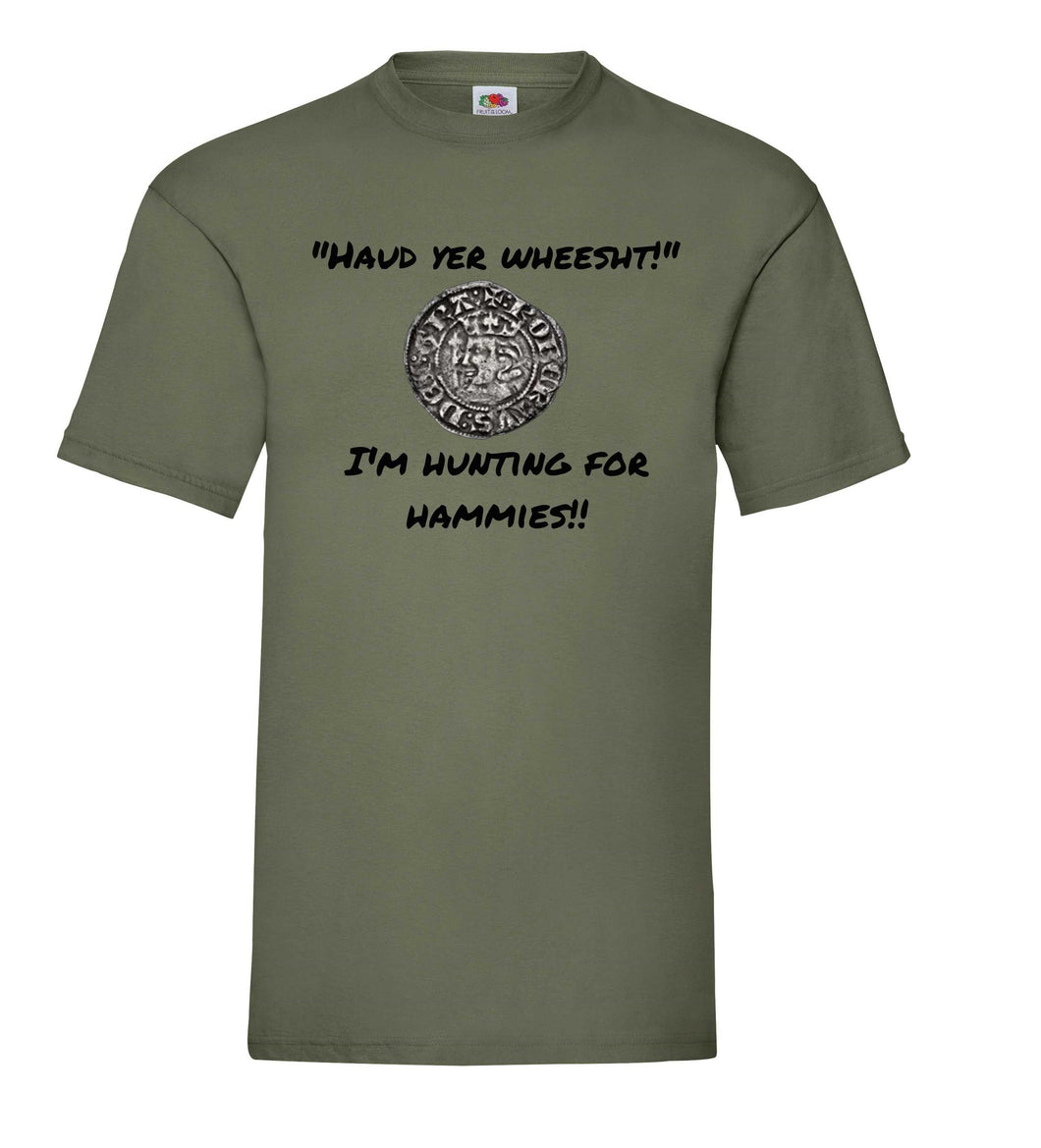 LIMITED EDITION - Scottish Relics Metal Detecting T-Shirt