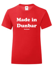 Load image into Gallery viewer, Made in Dunbar T-Shirt Adult or Kids